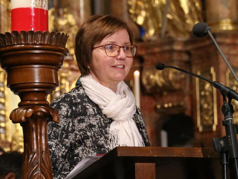 Slika 6: Nagovor prov. ravnateljice Zalke Kuchling, © Michael Stern