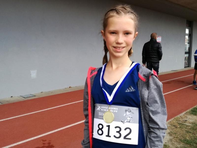 Slika 3: Najuspešnejša tekačica Anja, © Magdalena Kulnik
