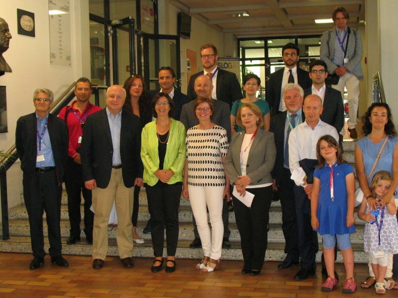 Slika 1: Delegacija OVSE z ravnateljico Zalko Kuchling