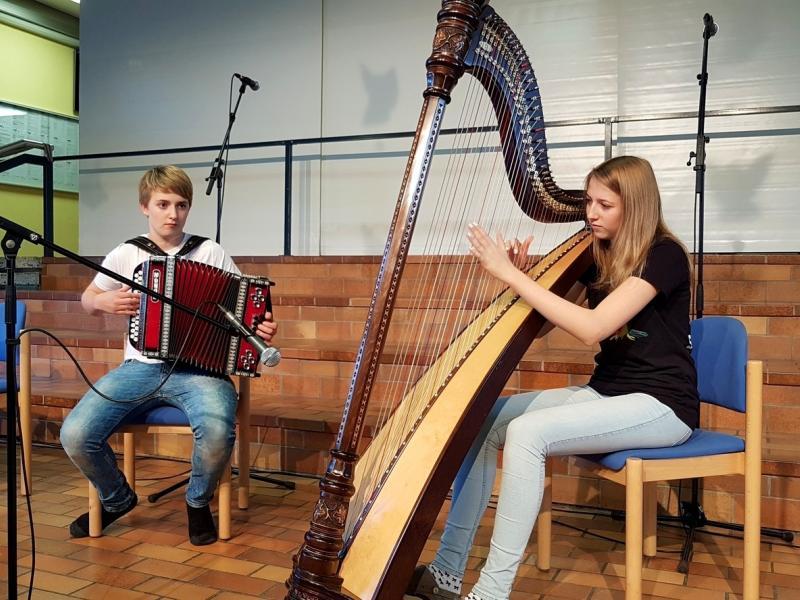 Slika 3: Duo Adrian in Klara Kuchling, © Nadja Senoner