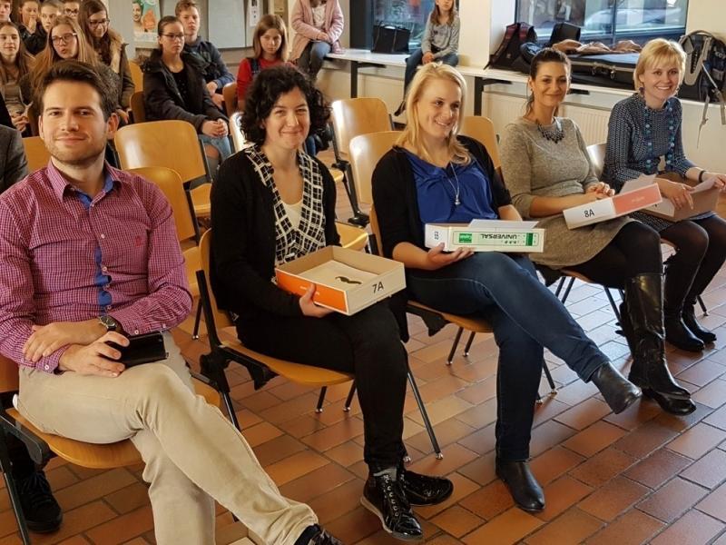 Slika 6: Člani organizacijskega tima prireditve, © Nadja Senoner