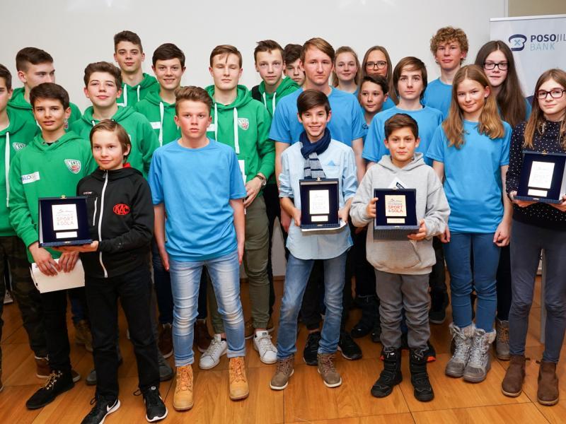 Slika 2: Nagrajenci za šolsko leto 2016/17, © Sebastian Trampusch