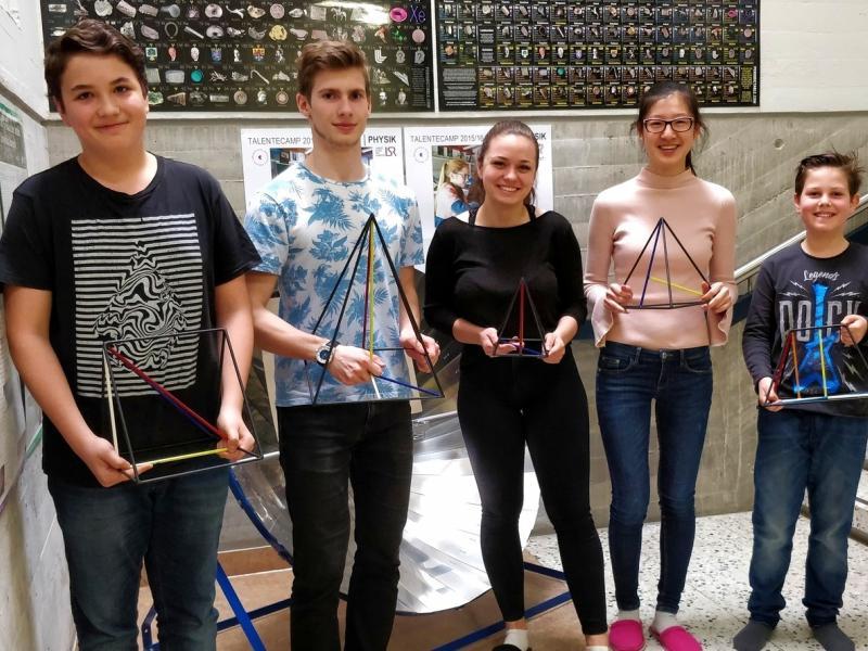 Bild 1: Erfolgreiche Jugendliche beim Pangea-Wettbewerb 2018, © Niko Ottowitz