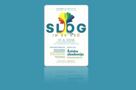 Plakat - Tag des Gymnasiums, © SLOGTag des Gymnasiums - 21. 6. 2018