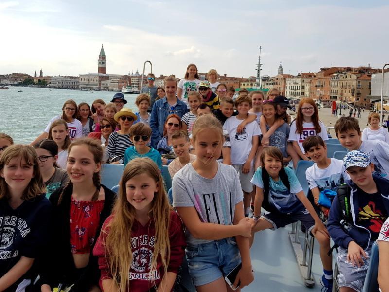 Slika 3: Anche la gita a Venezia ci piace!, © Kristijan Fotivec