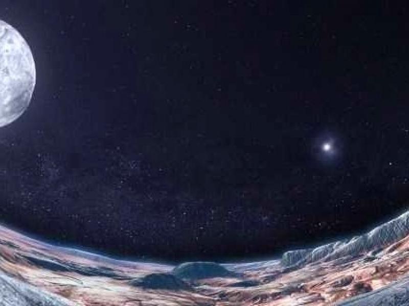 Slika 2: V globinah Osončja, ©http://www.planetarium-klagenfurt.at/shows/