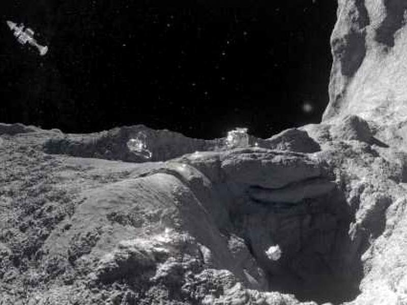 Slika 3: V globinah Osončja, ©http://www.planetarium-klagenfurt.at/shows/