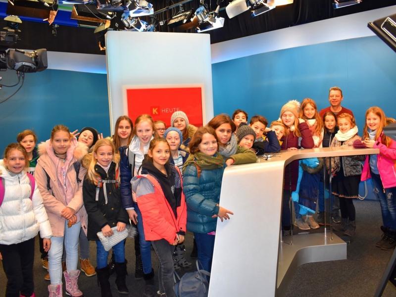 Slika 1: 1C v studiu ORF, © Monika Novak-Sabotnik