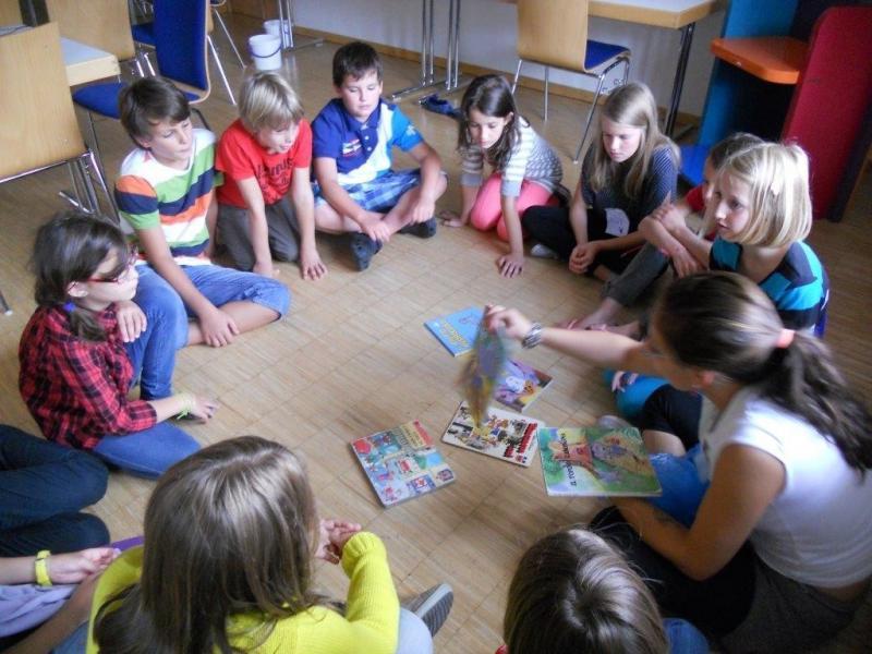Slika 1: Delo v majhnih skupinah