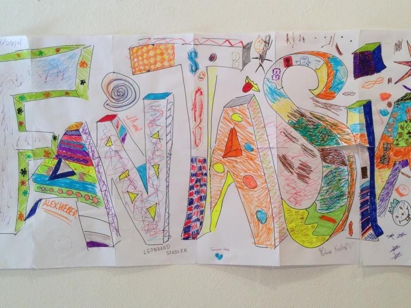 Slika 4: Teden, poln jezikovnih fantazij!