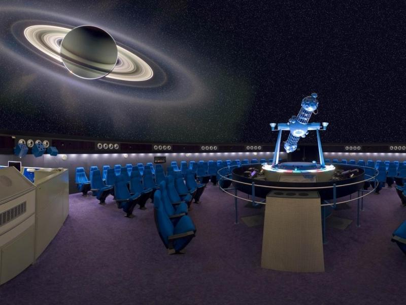 Slika 3: Planetarij v Celovcu, https://www.delo.si/novice/svet/popotovanje-po-vesolju-v-slovenskem-jeziku-106919.html?fbclid=IwAR2x