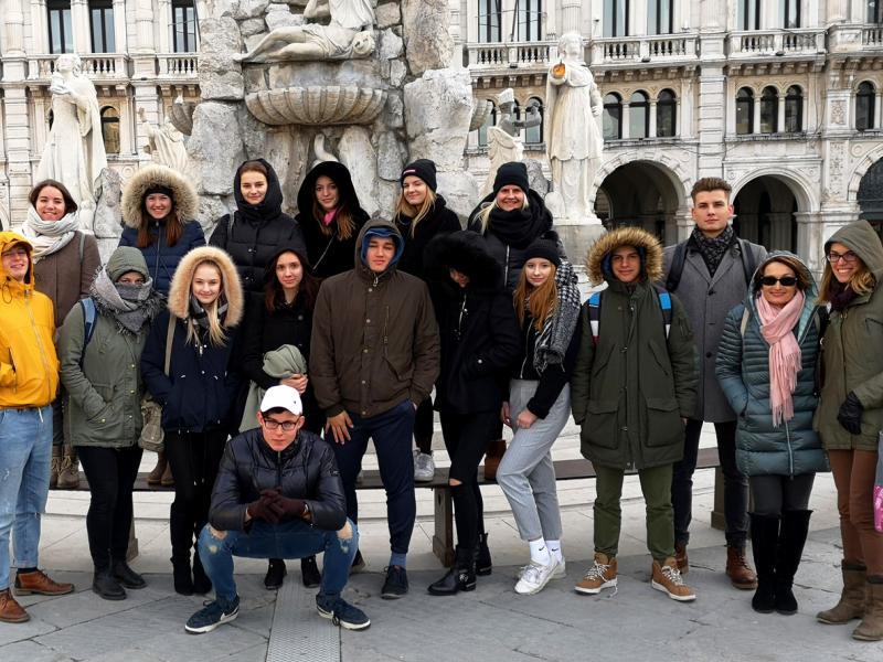 Bild 1: Gruppenfoto in Trieste, ©Matej Trampusch-Novak