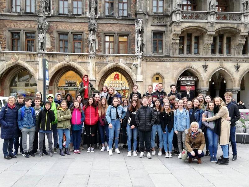 Slika 1: Skupinska slika v Münchnu, ©Kristijan Sadnikar