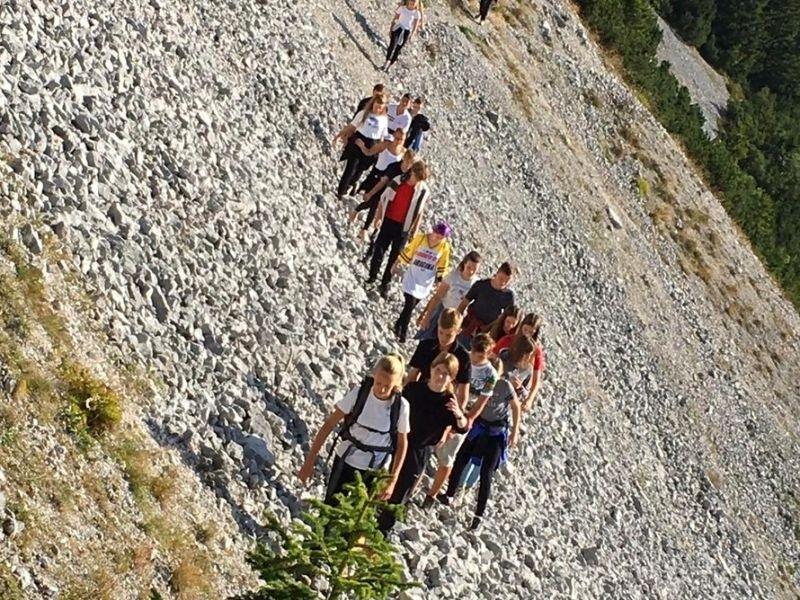 Bild 3: Wanderung auf den Berg Veliki vrh, ©Julia Schuster-Smrečnik
