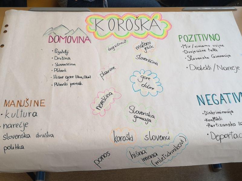 Bild 3: Plakat der 5. A Klasse, ©Julia Schuster-Smrečnik