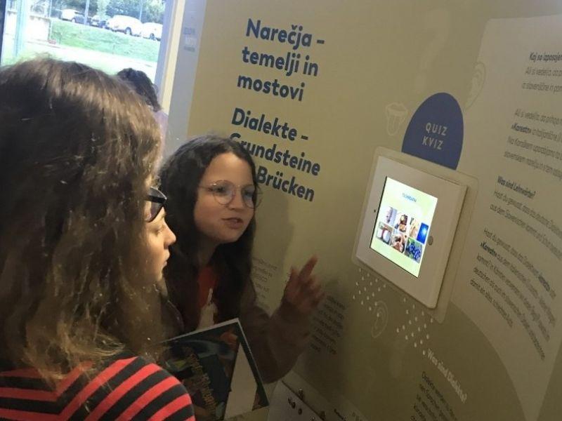 Bild 9: Interaktives Lernen und Hören verschiedener Dialekte