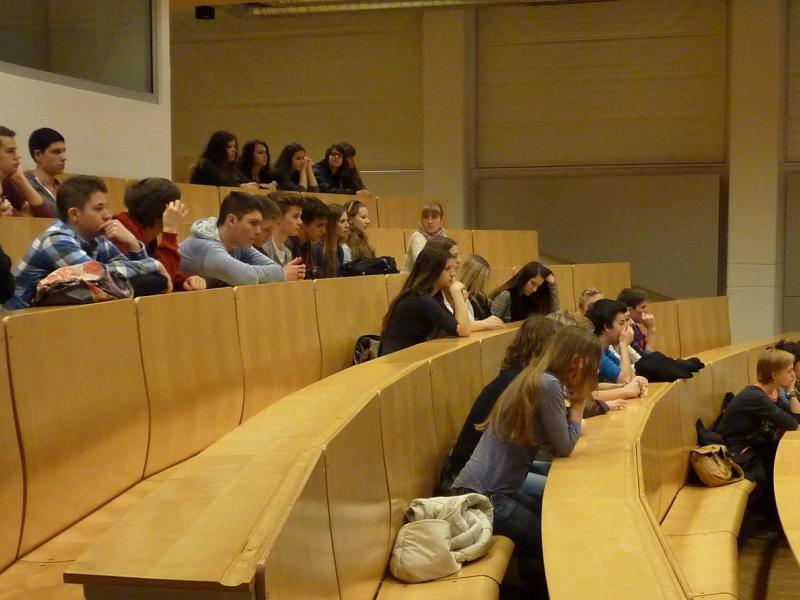 Slika 2: ... in v predavalnici C.