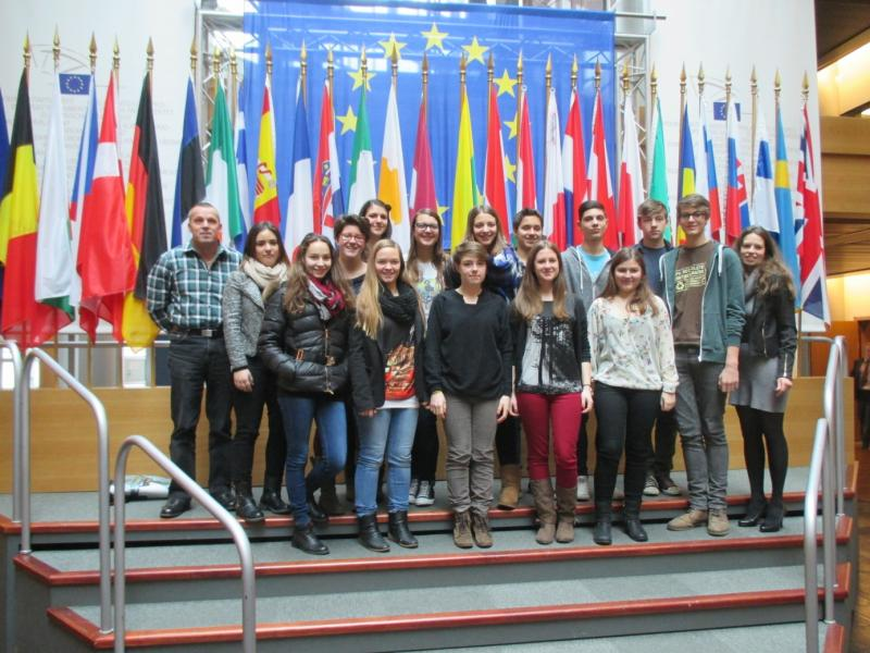 Slika 3: V evropskem parlamentu