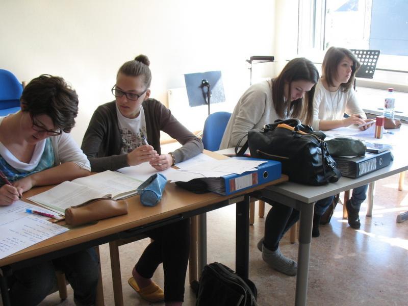 Slika 1: Pisanje francoskih besedil