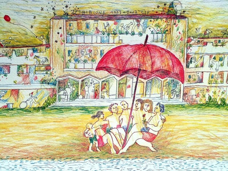 Bild 1: Eine Zeichnung der Verbundenheit