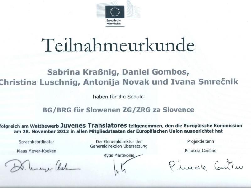 Bild 1: Übersetzer-Wettbewerb