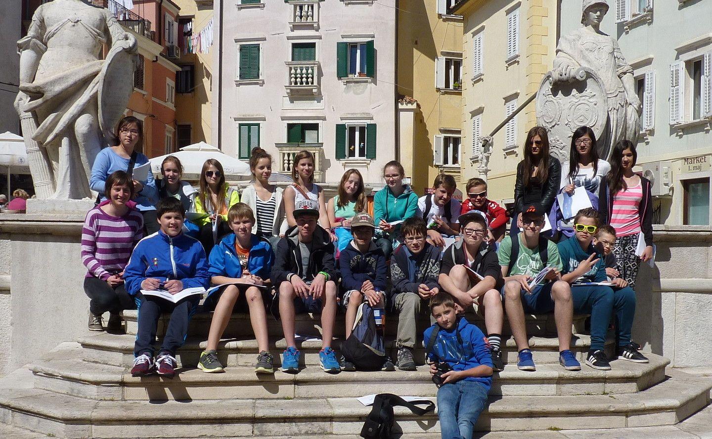 Jezikovni teden 3.a-razreda v Piranu