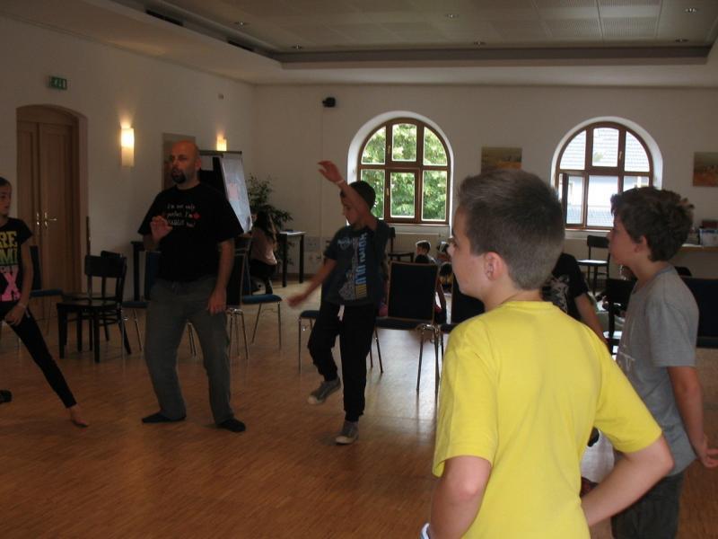 Slika 2: Jezik in gibanje