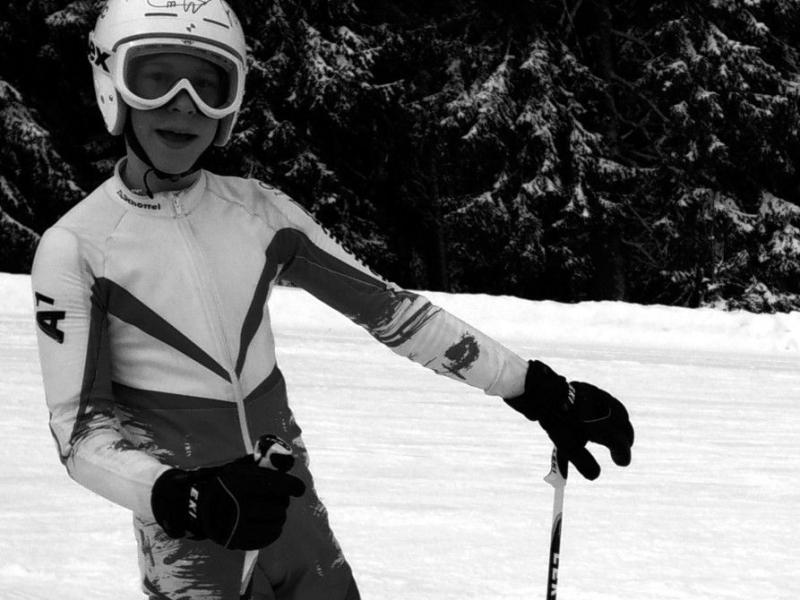 Bild 2: Erfolgreicher Schifahrer