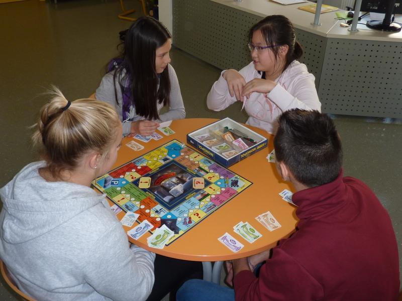 Bild 4: Workshop: Gesellschaftsspiele in der Bibliothek, © Nadja Schellander