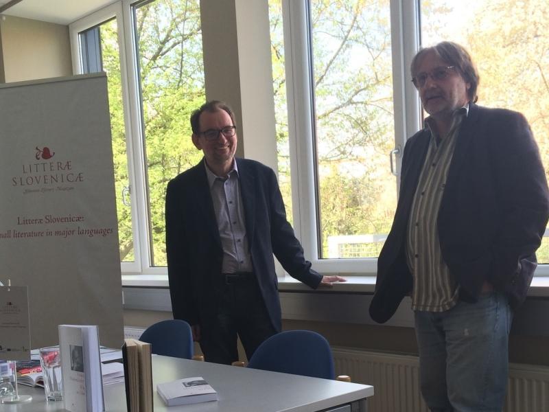 Slika 1: Dr. Miha Vrbinc in Vinko Möderndorfer, © Tanja Petrič