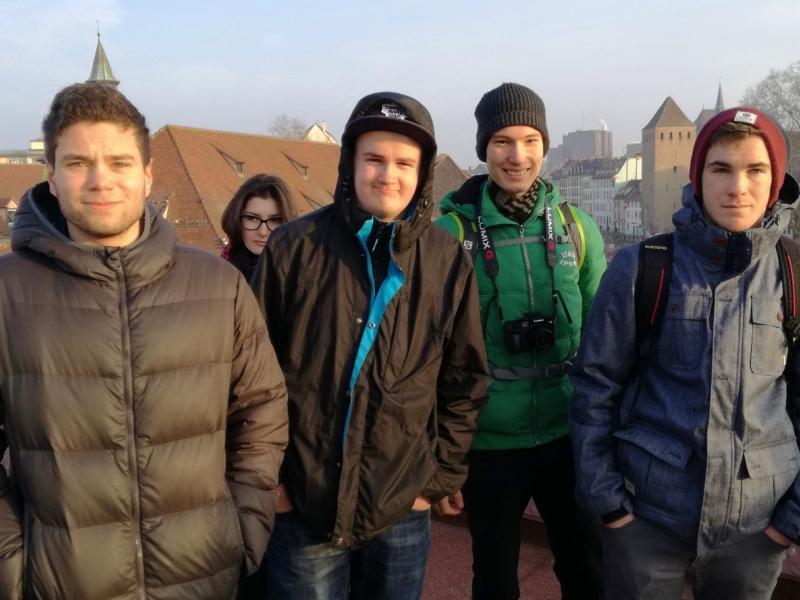 Slika 3: Pri ogledu mesta Strasbourg, © Magdalena Kulnik